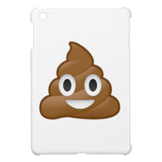 Poop emoji iPad mini cases