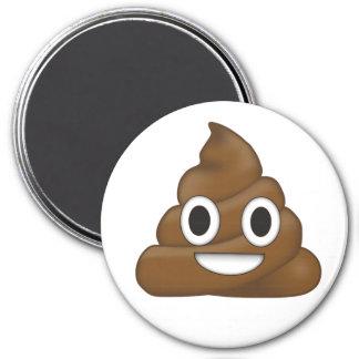 Poop emoji magnet