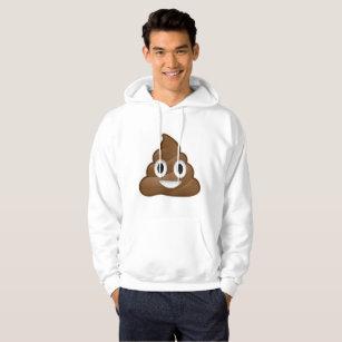 poop emoji mens hooded sweatshirt hoodie hoody