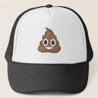 Poop emoji vintage trucker hat