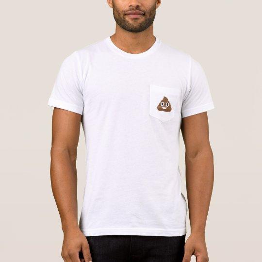 poop emoji woman's tshirt