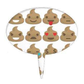 poop emojis cake pick