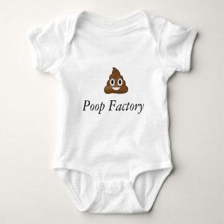 poop factory baby bodysuit