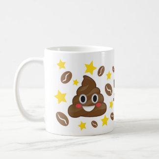 Poop Juice Emoji Happy Mug
