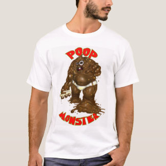 poop monster T-Shirt