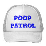POOP PATROL - CAP HATS