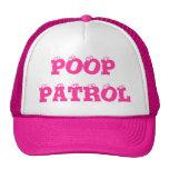 POOP PATROL - CAP MESH HATS