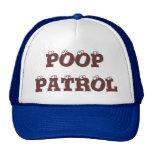 POOP PATROL - CAP TRUCKER HATS