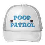 POOP PATROL - CAP WITH EYEBALLS MESH HAT