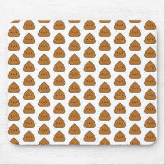 Poop Pattern Mousepad