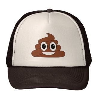 Poop smiley cap