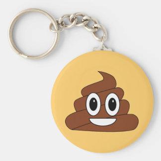 Poop Smiley Key Ring