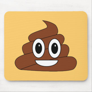 Poop Smiley Mouse Mat