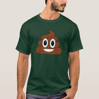Poop Smiley T-Shirt