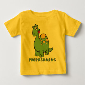 Poopasaurus Infant Tee