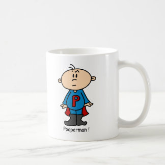 Pooperman Baby Coffee Mug
