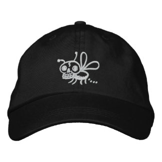 Pooping Death Moth Adjustable Hat Embroidered Baseball Cap