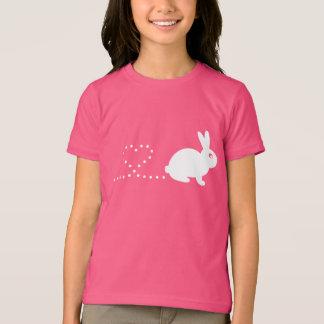 Pooping Heart Rabbit Children's T-Shirt