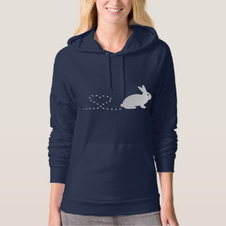 Pooping Heart Rabbit Hoodie Sweatshirt