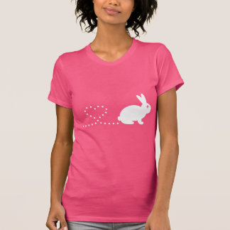 Pooping Heart Rabbit Women's T-Shirt