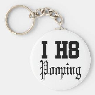 pooping key ring
