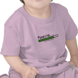Pooping... Please wait Tee Shirt