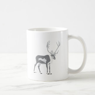 Pooping reindeer coffee mug
