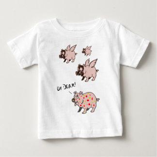 Poor Little Piggy Baby T-Shirt