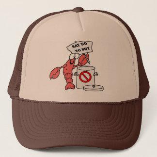 Poor Lobster Trucker Hat