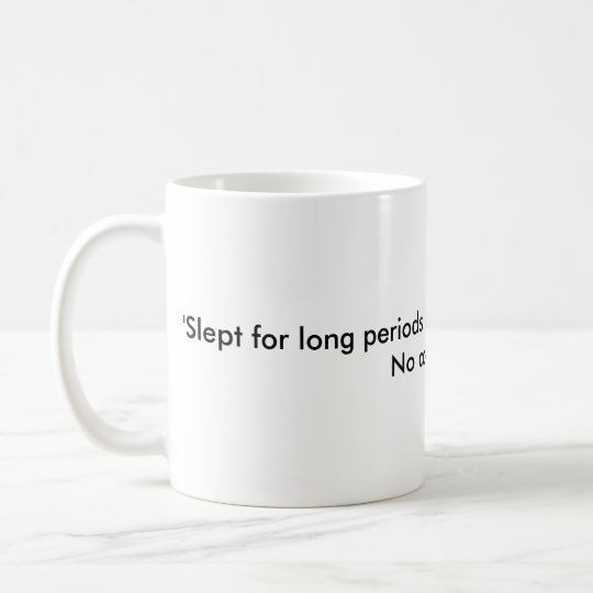 Poor note-writing (night shift) coffee mug