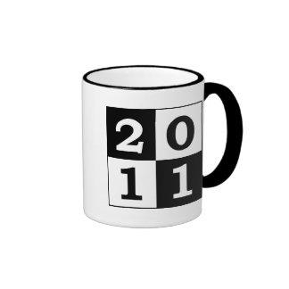 Pop Art 2011 Ringer Mug