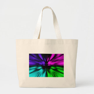 Pop Art abstract four colours. Warp drive space Canvas Bag