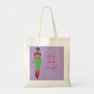 Pop Art  Afro-centric Budget Tote Bag
