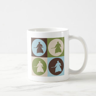 Pop Art Aikido Coffee Mug