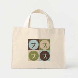 Pop Art Archery Mini Tote Bag