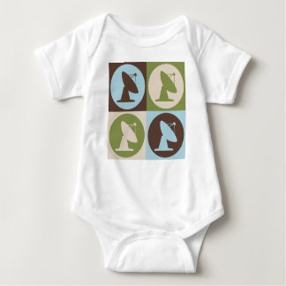 Pop Art Astrophysics Baby Bodysuit
