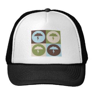 Pop Art Atmospheric Sciences Mesh Hats