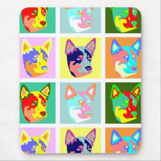 Pop Art Australian Cattle Dog Mouse Mat