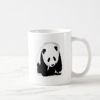 Pop Art Baby Panda Basic White Mug