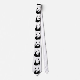 Pop Art Baby Panda Neck Ties