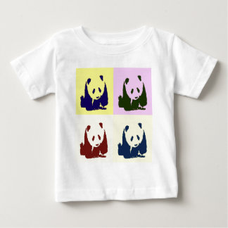 Pop Art Baby Pandas Baby T-Shirt