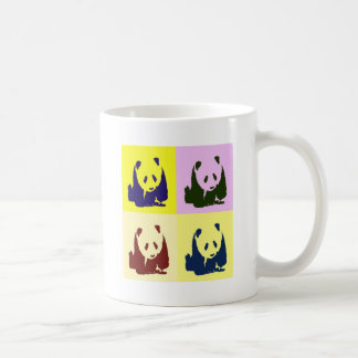 Pop Art Baby Pandas Coffee Mug