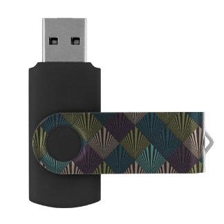 Pop art background USB flash drive