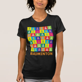Pop Art Badminton T-Shirt