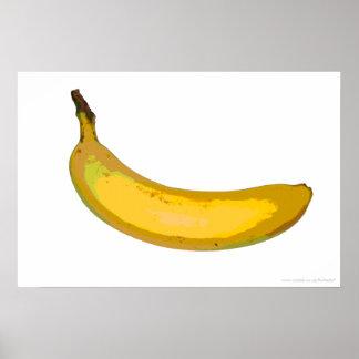 Pop Art Banana Print