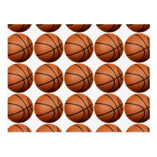 Pop Art Basketball Post Card