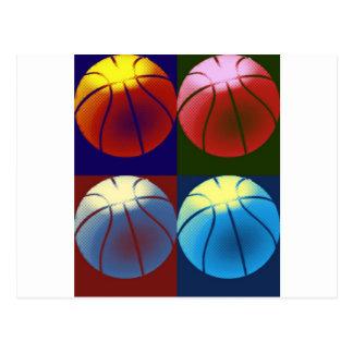 Pop Art Basketball Post Cards