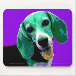 Pop ART Beagle Mouse Mats