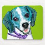 Pop ART Beagle Puppy Mouse Mat