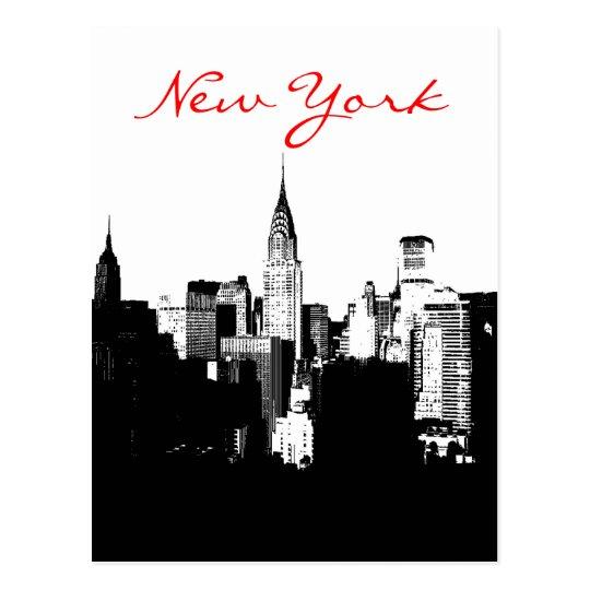 Pop Art Black & White New York City